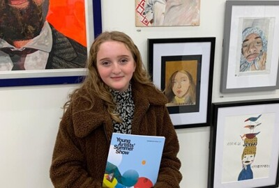 Wren Student Portrait displayed at the Royal Academy