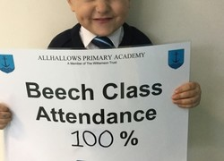 100% attendance today