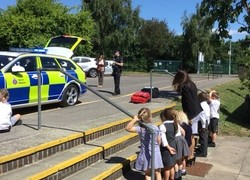 Key Stage 1 visit from local Police