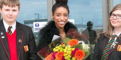 Lianne La Havas visits All Saints' Academy