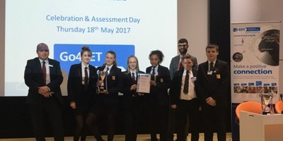 Students win Pupil Choice Award at Go4Set challenge