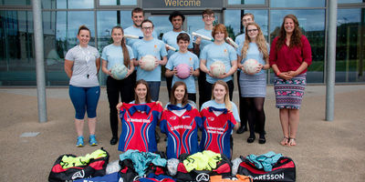 Leagues4you and The Joanna Brown Trust donates sports kit to Africa Mission Trip