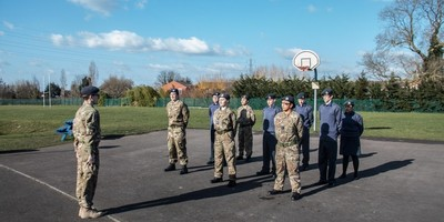 All Saints' CCF Biennial inspection