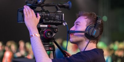 ASA Alumnus Nick camera operates for Insomnia 62