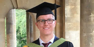 Alumnus Liam gets top job following graduating university with a first