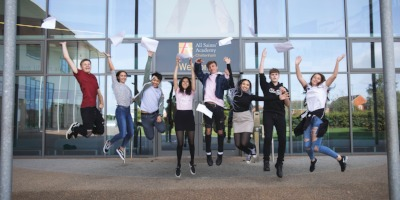 All Saints' celebrates another record breaking set of GCSE results