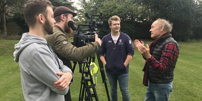 Alumnus Nick produces video for BBC Points West