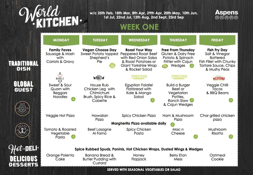 ASA Chelt World Kitchen Core Menu February 2019     Read Only