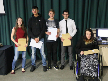 GCSE Awards Evening 2015