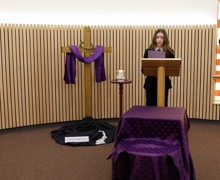 Service for lent reading lucy