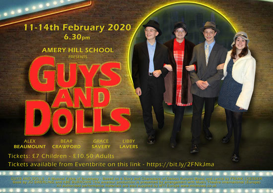 Guys and Dolls posterws