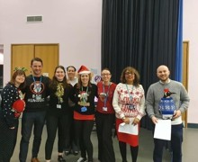 Staff charity christmas concert
