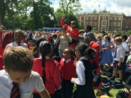 Year 4 visit Kneller Hall