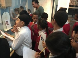 Year 4 visit the British Museum