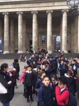 Year 4 – Trip to the British Museum (2017)