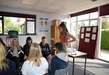 Classroom session on L6 Leadership Day 2019