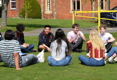 L6 Leadership day session outside 2019