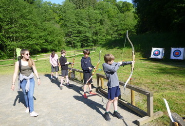 Archery on L3 trip to France May 2019