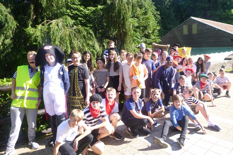 L3 group on half term trip to France 2019