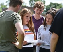 L6 students together on Leadership Day May 2019