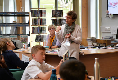 Form 1 & 2 on Cloud Nine for Author Visit