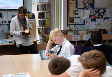 Marcia williams reading cloud boy for pupils
