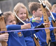 Year 2 enjoy archery day June 2019