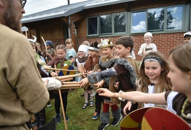 Lower Shell Vikings with bows and arrows June 2019