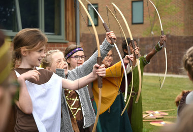 Lower Shell Vikings take aim on Viking Day 2019