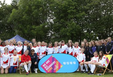 All-Round Fun at England Rounders Festival