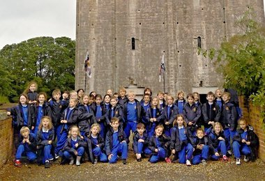 Year 2 are Normans for a Day at Hedingham Castle