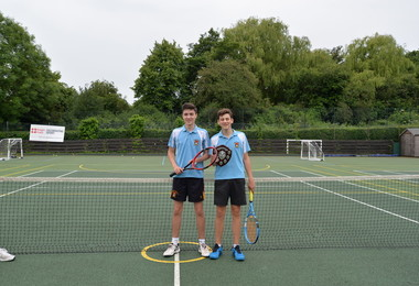 Senior School Boys Ace House Tennis