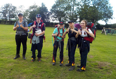 DofE Success for 63 Lower 5th Adventurers
