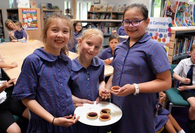 Jam Tarts & Skype Chat with Author