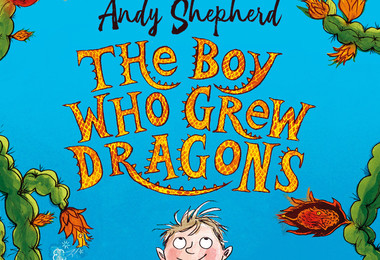 The boy who grew drages book cover