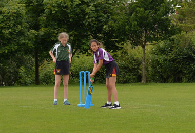 Girls House Cricket for Forms 1 & 2 on top field