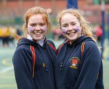Sixth Form Alliott Girls together at sports event