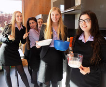 Shrove Tuesday 2019 in Alliott House