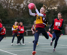 Young House netball player in House Netball 2019