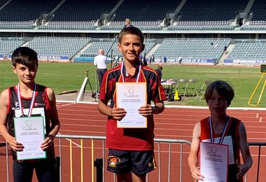 Elijah Sprints to National Glory!