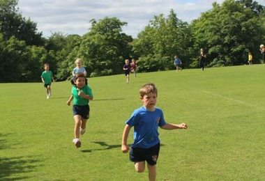 Pre-Prep Pupils' Race for the Oceans
