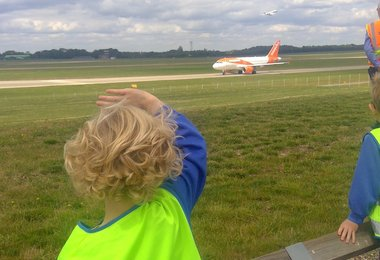 Year 1s' High Flying Day at Stansted Airport