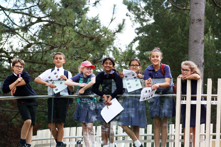Form 2 Prep School pupils on science trip 2019