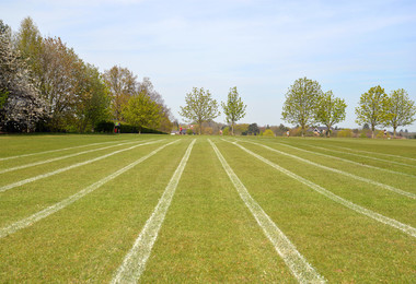 Athletics Track markings top field