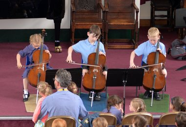 Pre-Prep Musicians End the Year on a High Note