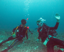 Students on dive trip 2019 2