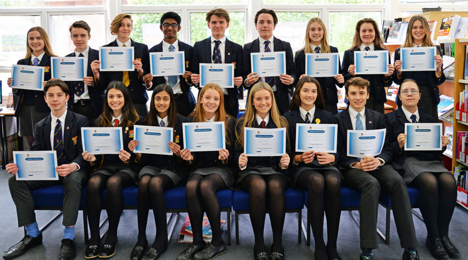 Senior school cv writing competition winners