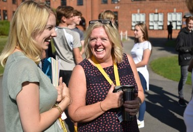 Miss Speight & Mrs Bond on GCSE Results Day 2019