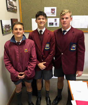 Will h with paul roos schoolboys in sa
