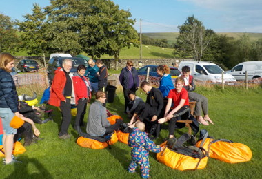 Sixth Form pupils on a DofE Expedition